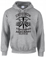 DIXON CROSSBOW ACADEMY HOODIE - INSPIRED BY DARYL THE WALKING DEAD
